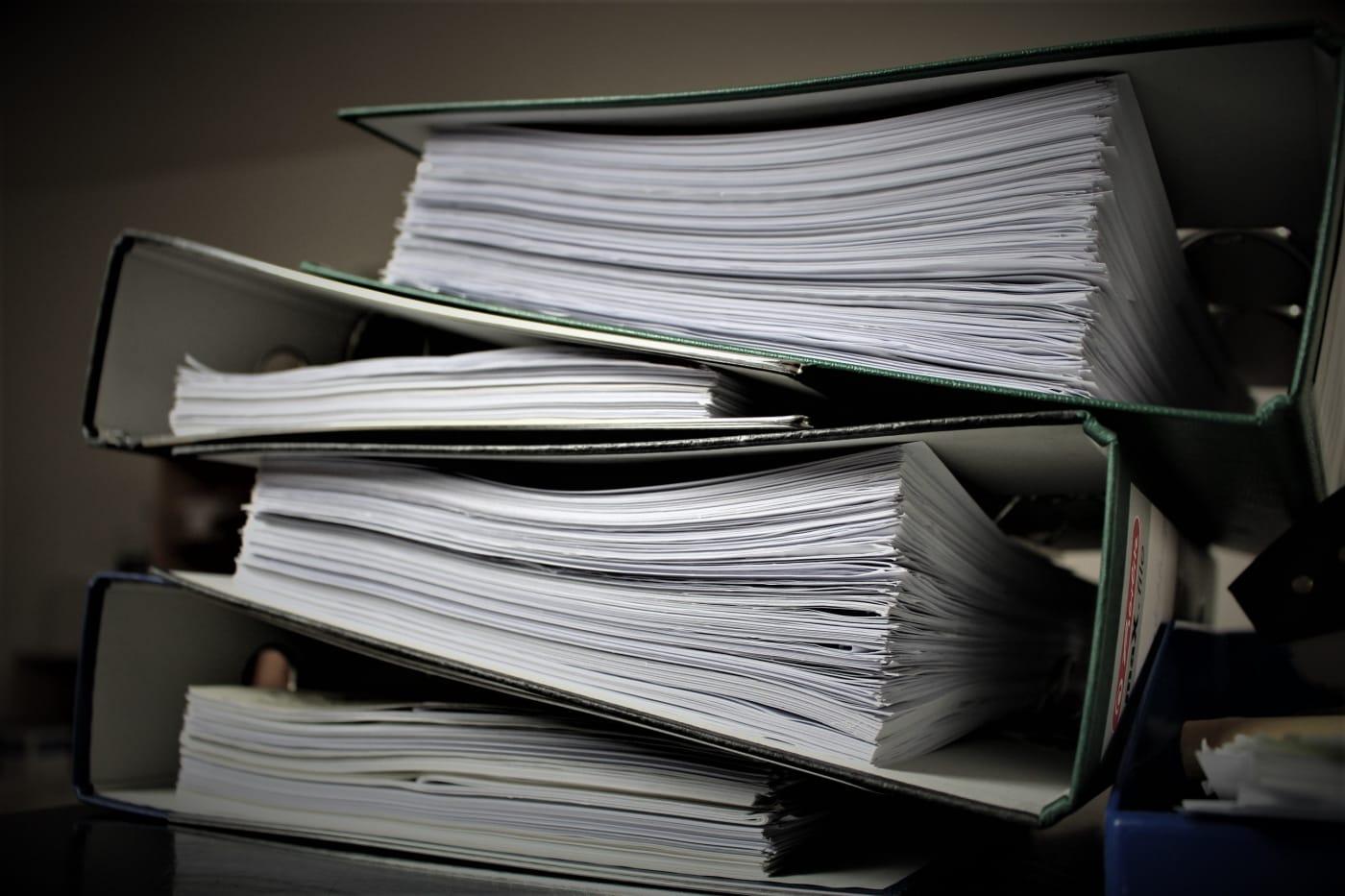 Unterlagen für ein Immobiliengutachten